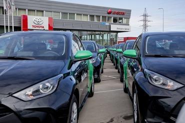 Amserv tegi rekordi ja andis aprillis üle ligi 400 autot