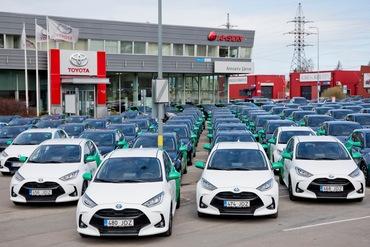 Bolt Drive sai Amservilt üle saja Toyota hübriidsõiduki