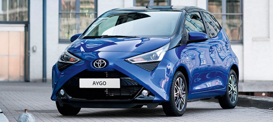 Toyota AYGO eripakkumine