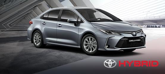 Toyota Corolla Hybrid sedaan Active Plus eripakkumine