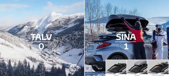 Võta kaasa kõik, mida vajad, et saavutada talve üle võit!