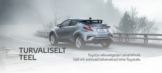 Toyota valuvelgedel tippklassi talverehvid