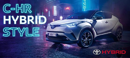 C-HR Hybrid по цене бензиновой модели