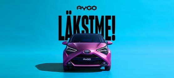 Uus Aygo - läksime!