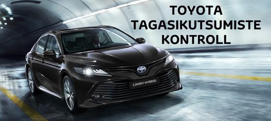 Toyota tagasikutsutavate sõidukite kontroll