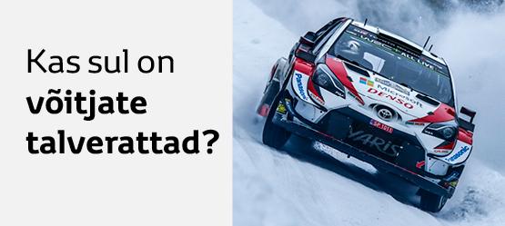Toyota talverataste komplektid