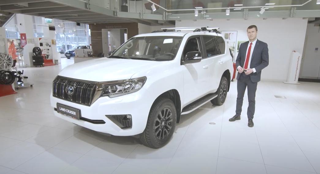 Toyota Land Cruiser eestikeelne tutvustus