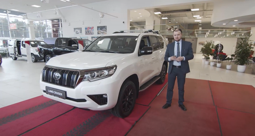 Toyota Land Cruiser venekeelne tutvustus