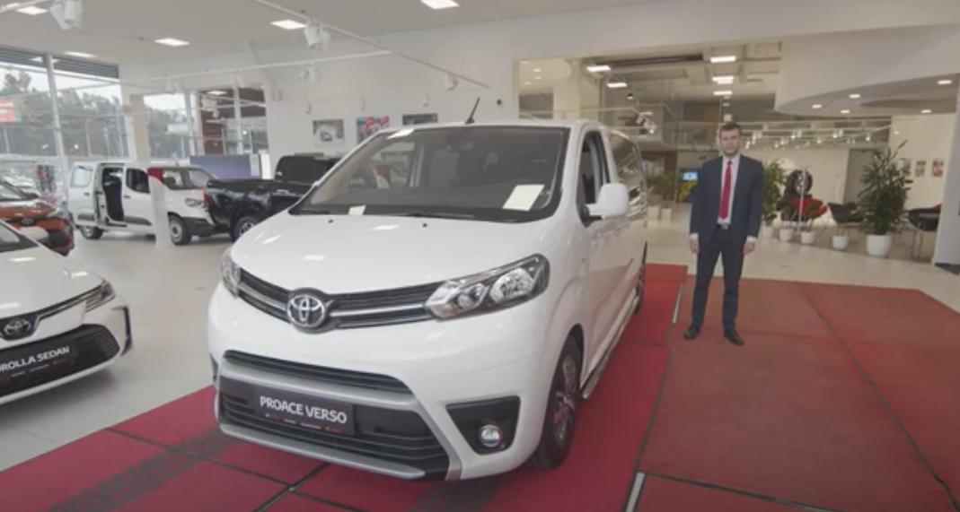 Toyota Proace Verso eestikeelne tutvustus