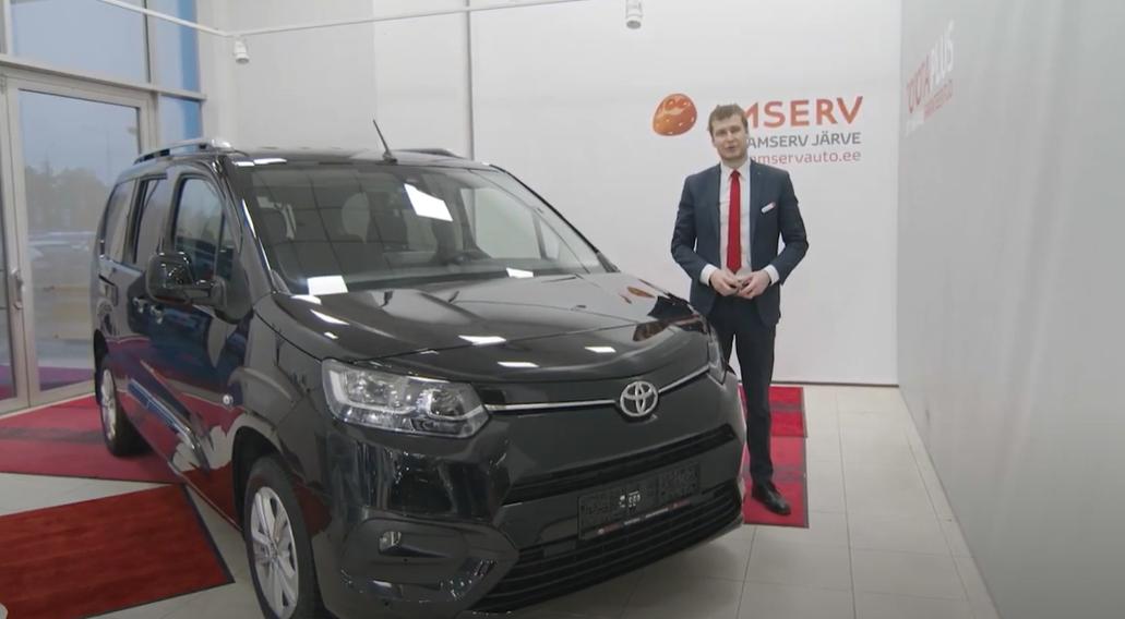 Toyota Proace City Verso eestikeelne tutvustus