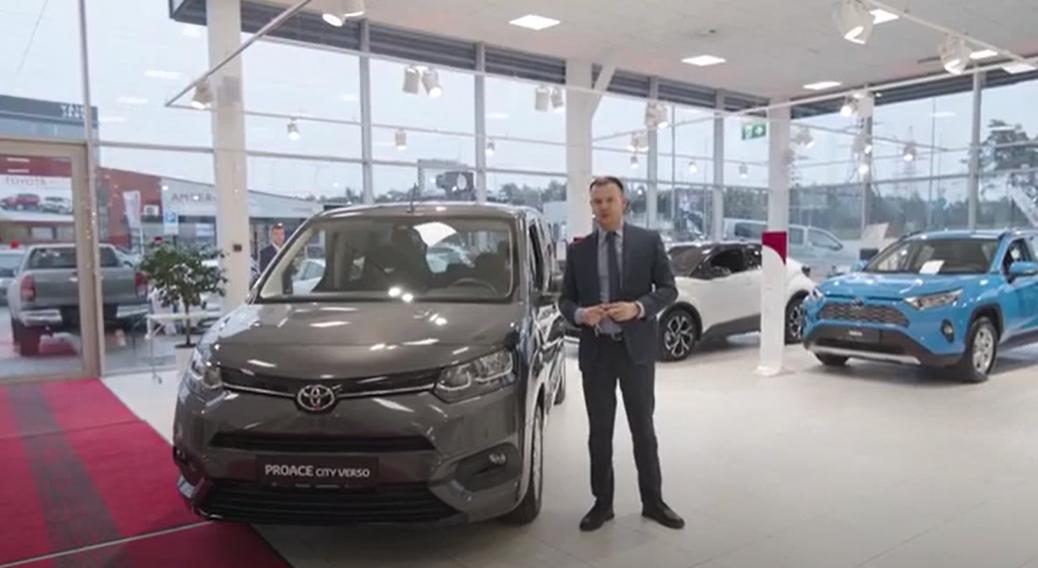 Toyota Proace City Verso venekeelne tutvustus