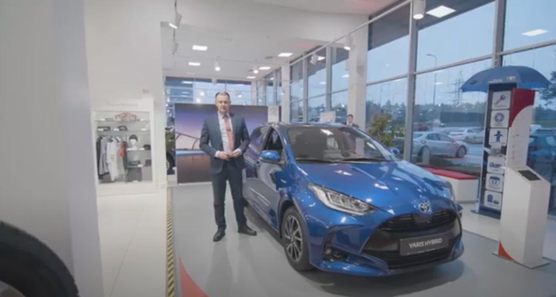 Toyota Yaris tutvustus